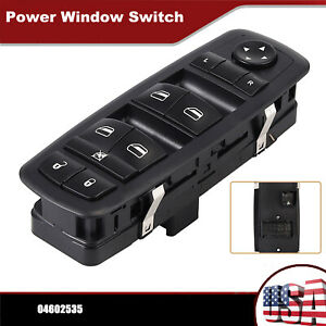 Master Window Switch Driver Side For Dodge Grand Caravan Chrysler Town Country