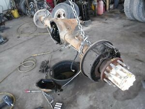 87 97 Ford F350 Pickup Truck 4 10 Ratio Non Locking Dually Rear End Axle V171c