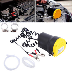 Oil Diesel Fluid Extractor Electric Transfer Scavenge Suction Pump Car Boat