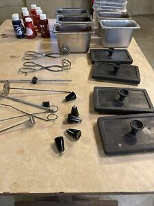 Used Tinting Equipment pans Lids And Extras
