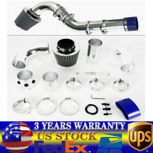 3 76mm Universal Multiple Combined Cold Car Air Intake Pipe Kit Filter Profi