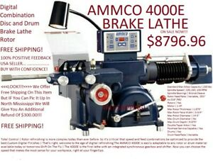 Ammco 4000e Digital Combination Disc And Drum Brake Lathe Rotor New
