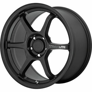 17x8 5 Satin Black Wheels Motegi Mr145 Traklite 3 0 5x112 35 Set Of 4 66 56