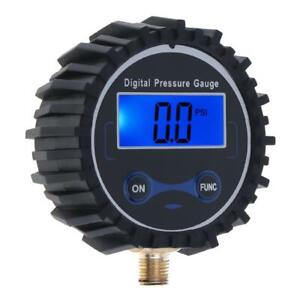 Digital Tyre Tire Pressure Gauge For Air Inflator Pump 200psi Vehicle Autocycle