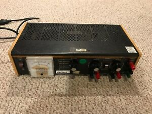 Bk Precision 1650 Tri Output Power Supply Unit Powers On Read