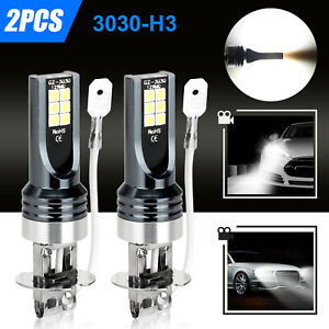 2x H4 9003 Hb2 6000k Super White Csp Led Headlight Bulb Kit High Low Beam Canbus