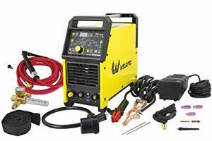 2020 Weldpro Digital Tig 200gd Acdc 200 Amp Tig stick Welder With Pulse Ck 17 Wo