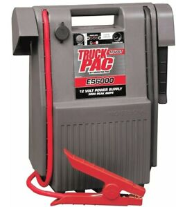 Es6000 Truck Pac Jump Starter Batttery Booster Pack With Heavy Duty 54 Cables