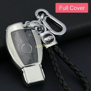 Tpu Full Covered Key Fob Chain Case For Mercedes Benz Cla Cls Glc A C S G Class