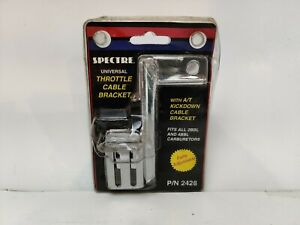 Spectre 2428 Fully Adjustable Universal Throttle Cable Bracket