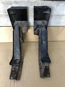 1929 1929 Model A Ford Cowl Feet Sub Rail Extension Body 28 29 Tudor Coupe Trog