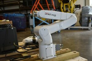 Fanuc Lr Mate 200id 7lc Industrial Robot With R 30ib Cleanroom Robot Low Hours