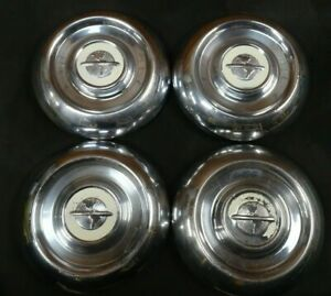 Vintage 1954 1955 Oldsmobile 15 Wheel Covers Hub Caps Hubcaps Oem Olds 54 55