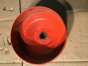 Case Sc Tractor Belt Pulley Antique Tractor