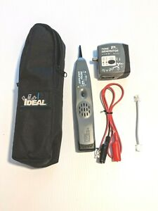 Ideal Amplifier Probe 62 164 Tone Generator 62 160 Kit With Carry Bag