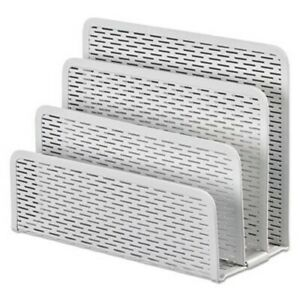 Urban Collection Punched Metal Letter Sorter White aopart20003wh