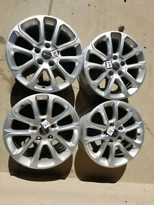 2014 2016 Jeep Grand Cherokee 18 Factory Oem Wheels Rims Set Of4 Free Ship Read