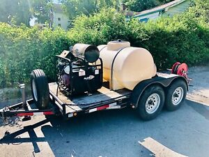 Alkota Hot Water Pressure Washer Trailer