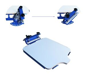 Techtongda 1 Color T shirt Screen Printing Machine Desktop Screen Press Printer