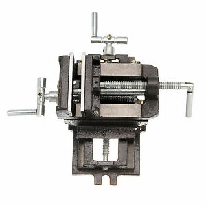 4 Cross Slide Vice 2 Way X y Drill Press Vice Clamp Milling Heavy Duty Machine