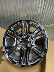 Brand New Genuine Gm Chevy 4 22 Chrome Wheels Ck158 Oem