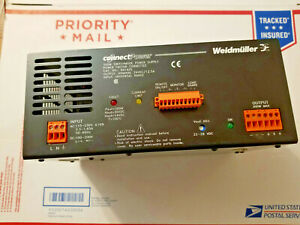 Weidmuller 300w Switchmode Power Supply Cat No 991625 24vdc Output