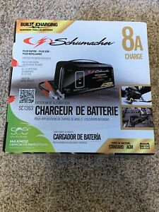 New Schumacher Sc1363 6 12v Fully Automatic Battery Charger 8a Maintainer