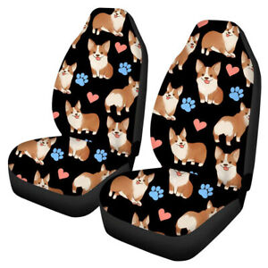 Auto Car Suv Front Seat Cover Set Universal Cute Cushion Protector Accessories