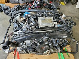 Audi S7 4 0 V8 Engine Assembly With Turbos