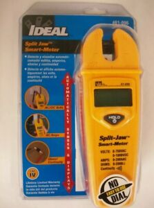 Ideal Split Jaw Smart Meter Multimeter Lifetime Warranty Free Shipping New