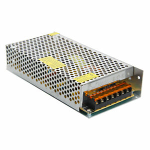 New Dc 12v 15a Regulated Switching Power Supply Silver