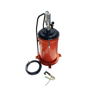Techtongda 9 2 Gallon 35l Pneumatic Compressed Air Grease Gun Lubricant Pump