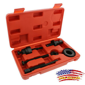 Power Steering Pump Pulley Puller Remover Installer Tool Kit For Most Cars Kr