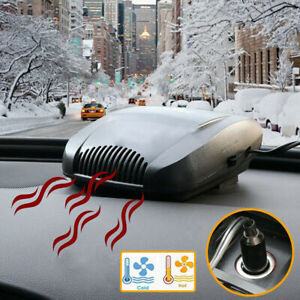 200w Car Auto Portable Electric Heater Heating Cooling Fan Defroster Demister