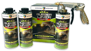 Bullyliner Spray On Truck Bed Liner 4 Liter 1 Gallon Kit Gun Free Shipping
