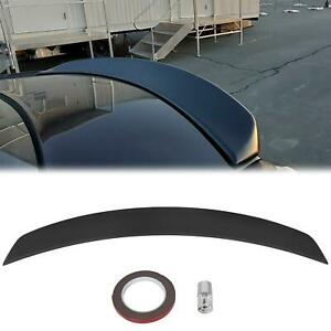 For 2011 2020 Chrysler 300 Factory Style Spoiler Trunk Lip Wing Matte Black