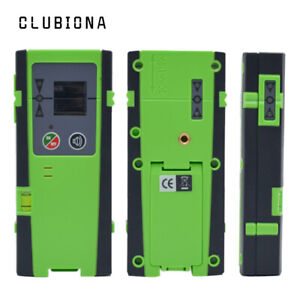 Clubiona Laser Receiver Detector W Clamp For Red Green Pulse Mode Laser Levels