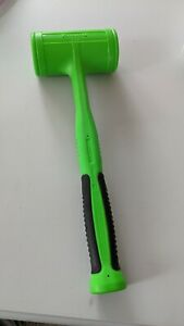 Hbfe56 New Snapon Dead Blow Hammer Model 56 Oz Green Soft Grip Handle