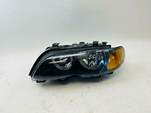 2002 2003 2004 2005 Bmw 3 Series E46 Sedan Wagon Headlight Head Light Lamp Oem
