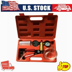 2 In 1 Brake Bleeder Vacuum Pump Tester Kit Diy Brake Bleeder Tool Universal