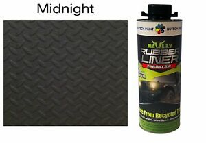 Bullyliner Spray on Truck Bed Liner Midnight 1 L Can Free Shipping