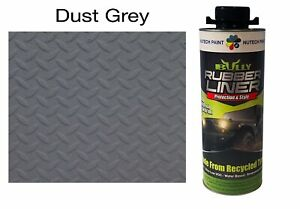 Bullyliner Spray on Truck Bed Liner Dust Grey 1 L Can Free Shipping