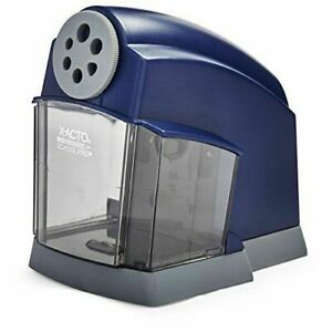 X acto Schoolpro Classroom Electric Pencil Sharpener Heavy Duty Blue Grey 1670