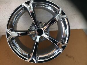 Grand Sport Wheels Reproductions Triple Chrome Plated 19x12 18x9 5