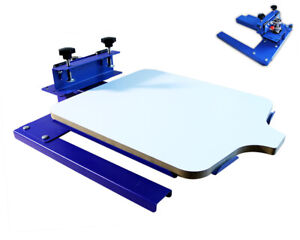 Techtongda One Color Double Directions Spinning T shirt Screen Printing Machine