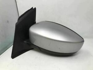 2013 2016 Ford Escape Driver Side View Power Door Mirror Silver Oem C17017