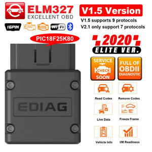 Elm327 V1 5 Bluetooth Wifi Obd2 Scanner Code Reader Automotive Diagnostic Tool