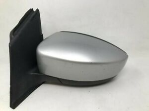 2013 2016 Ford Escape Driver Side View Power Door Mirror Silver Oem M4014