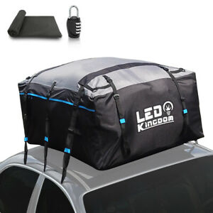 Waterproof Rooftop Cargo Bag Carrier 600d W Pvc Coating Roof Bag For All Cars