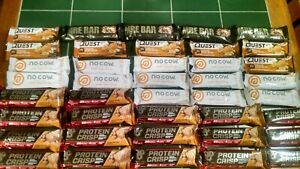 No Cow Protein Bar Chunky Peanut Butter 12 BARS New Sealed BEST BY 11 13 20 $27.95
